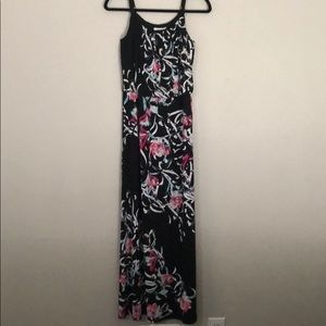 White House Black Market Maxi Dress Floral